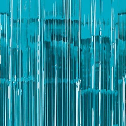 Caribbean Blue Door Curtain 91cm x 2.43m