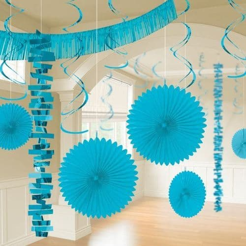 Caribbean Blue Room Decoration Kit/18