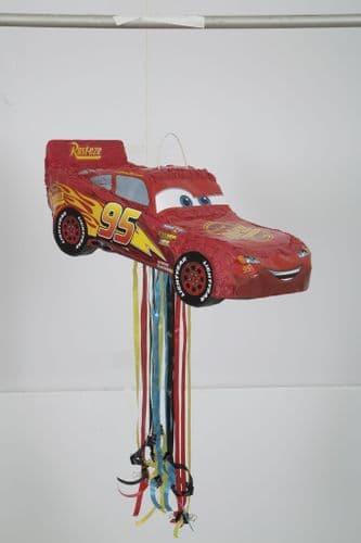 Cars III 3D Pull Pinata