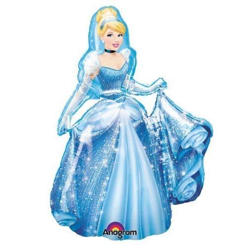 "Cinderella AirWalkers Foil Balloon 30"" x 48"""