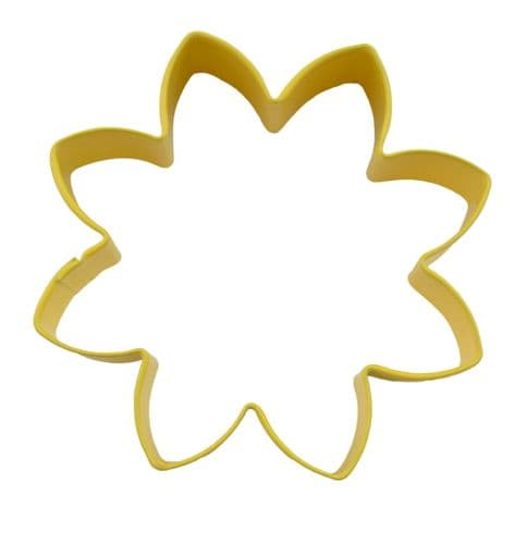 Daisy Poly-Resin Coated Cookie Cutter Yellow