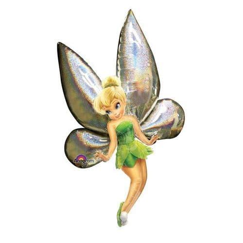 "Disney Fairies Tinker Bell AirWalkers Foil Ballloon  31"" x 66"""