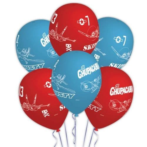 """Disney Planes 6 Character Story Balloons - Helium Quality Packet of 6 x 11"""""""