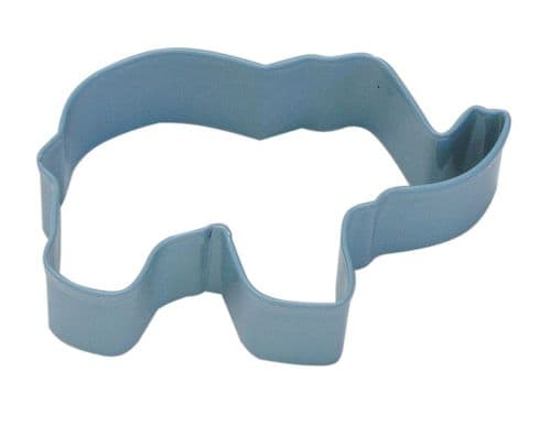 Elephant Poly-Resin Coated Cookie Cutter Blue