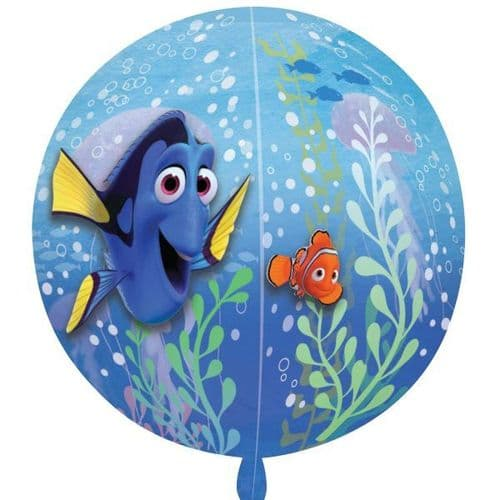 """Finding Dory Clear Orbz  Balloon 15"""" x 16"""""""
