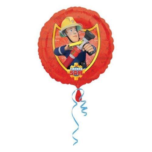 Fireman Sam  Standard Foil Balloon