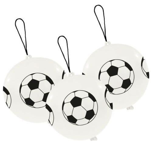Football Punch balls Latex Balloons 3 per pack.