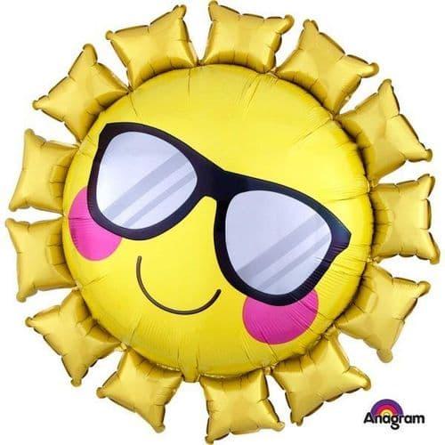 """Fun in the Sun SuperShape Foil Balloon 27"""" x 27"""""""