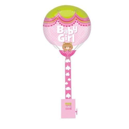"""Girl Hot Air Balloon Uplifter 16"""" x 32"""""""