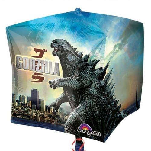 """Godzilla Cubez Foil Balloon 15"""""""