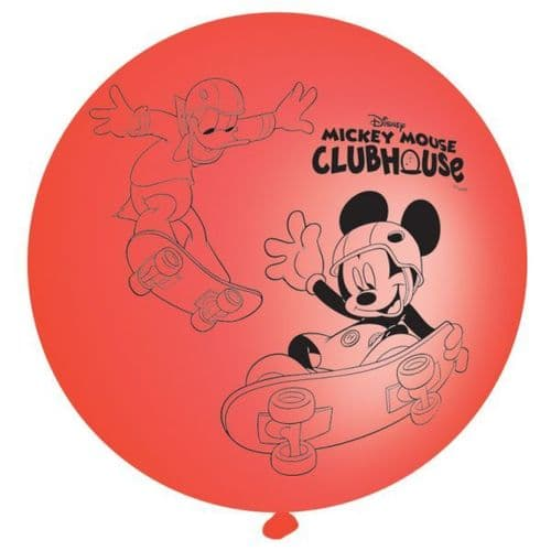 Mickey Mouse Latex Punch Balls Balloons 4 Per pack