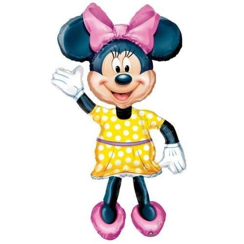 """Minnie AirWalkers Foil Balloon 52"""""""