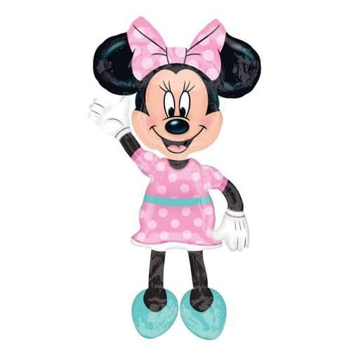 """Minnie Mouse AirWalker Foil Ballloon 38"""" x 54"""""""