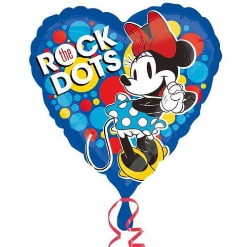 Minnie Rocks The Dots Standard Balloon