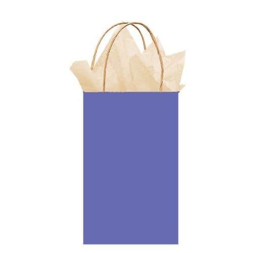 New Purple Paper Gift Bags 21cm x 13cm x 9cm