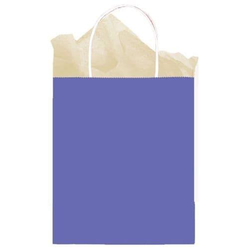 New Purple Paper Gift Bags 25cm x 20cm x 10cm
