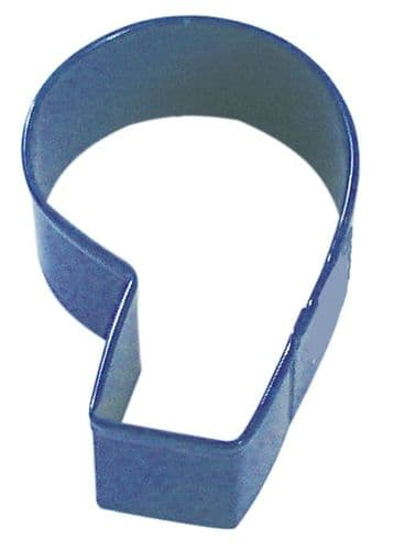 Number 6/ 9 Poly-Resin Coated Cookie Cutter Navy Blue