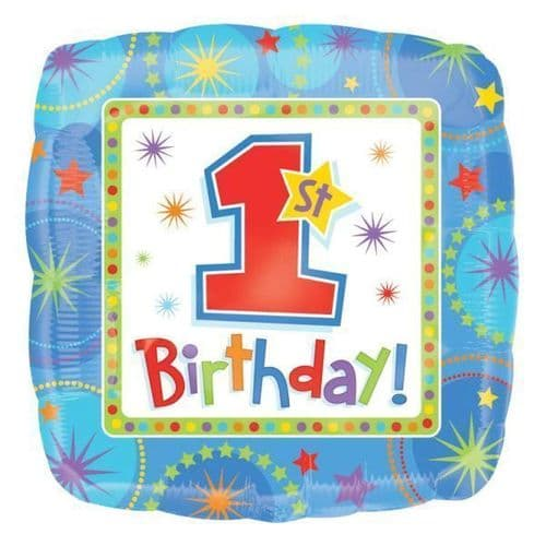 One-derful Birthday Boy  Foil Balloon