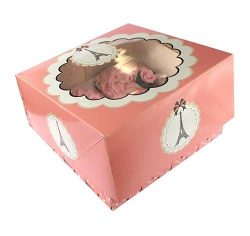 Parisienne Cupcake Boxes 2's