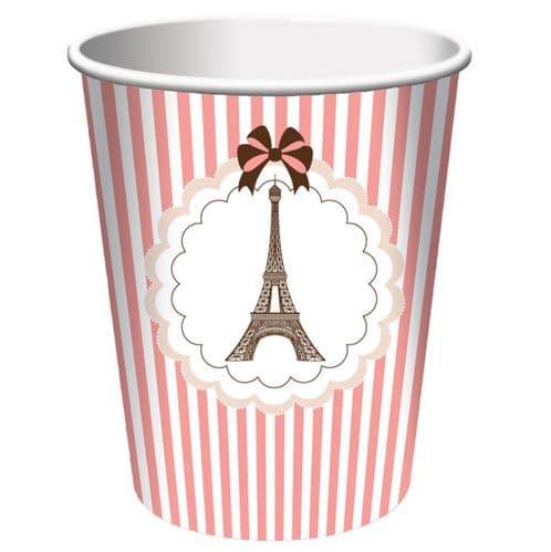 Parisienne Paper Cups 8's