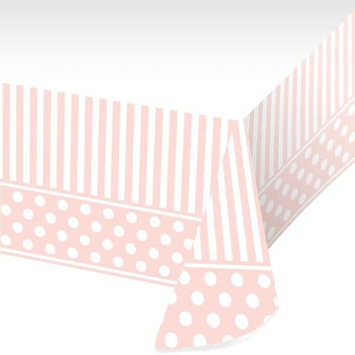 """Pink Chic Tablecover 54"""" x 102"""""""