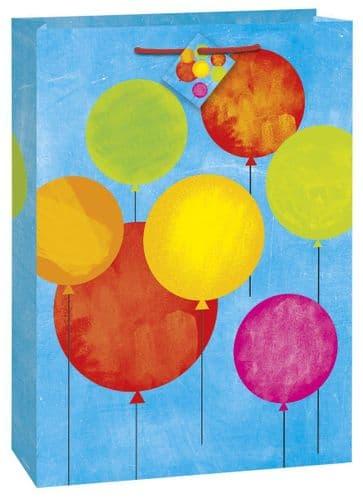 Printed Balloon Design Giftbag-Jmbo