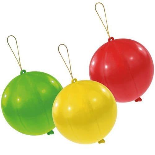 Punch balls Latex Balloons 3 per pack.