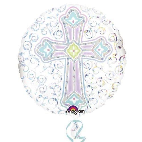 Radiant Cross Standard Foil Balloon
