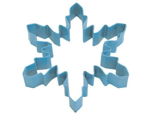 Snowflake Poly-Resin Coated Cookie Cutter Blue Large