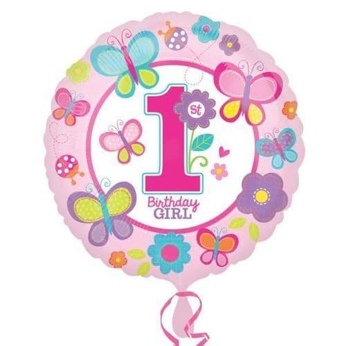 Sweet Birthday Girl  Standard Foil Balloon
