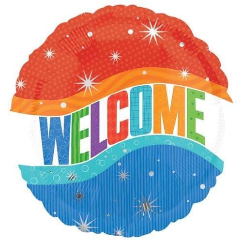 Warm Welcome Foil Balloon