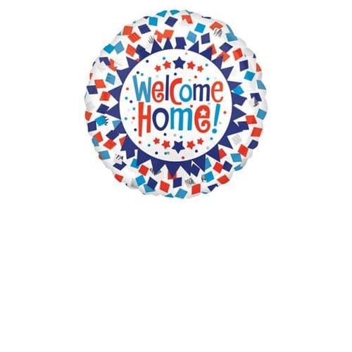 Welcome Home Confetti Foil Balloon