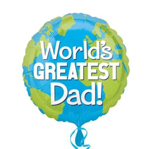 World's Greatest Dad Foil Balloon