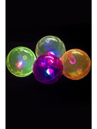 Air Ball, Flashing, Purple, Yellow and Pink