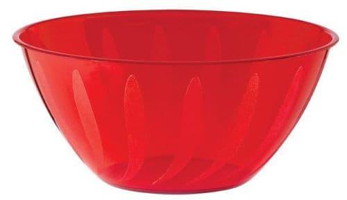 Apple Red Swirl Bowl 4.73 Litre - 18 PKG