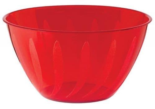 Apple Red Swirl Bowl 70cl - 36 PKG