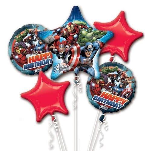 Avengers Assemble Foil Balloon Bouquets