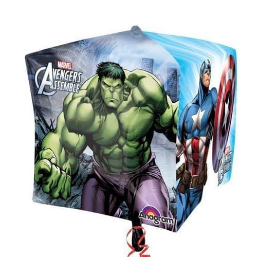 "Avengers Cubez Foil Balloons 15"""