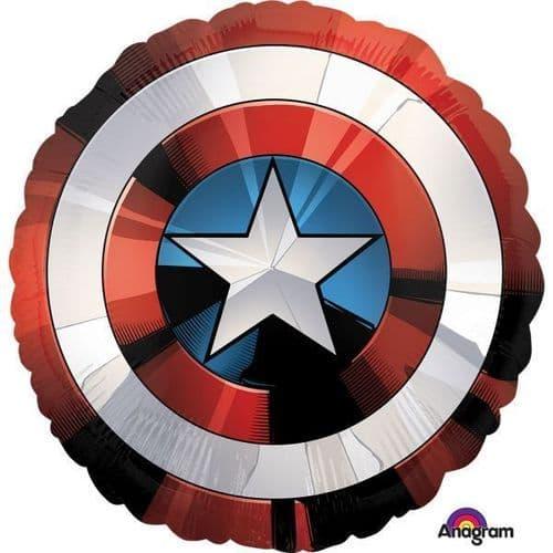 "Avengers Shield SuperShape XL Foil Balloons 28"" x 28"""