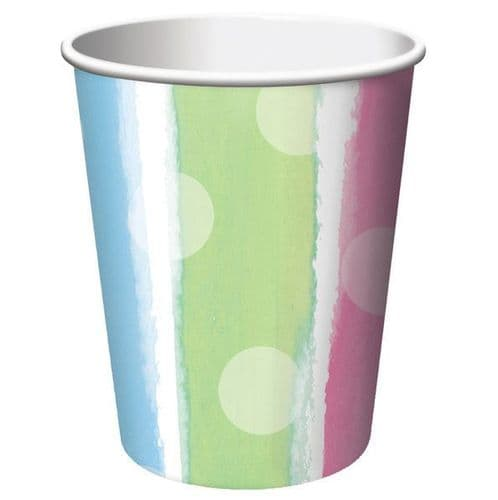 Baby Clothes 8 x Paper Cups 256ml