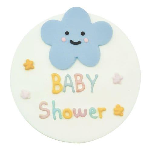 Baby Shower Sugarcraft Plaque