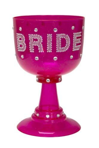 Bachelorette Plastic Goblet