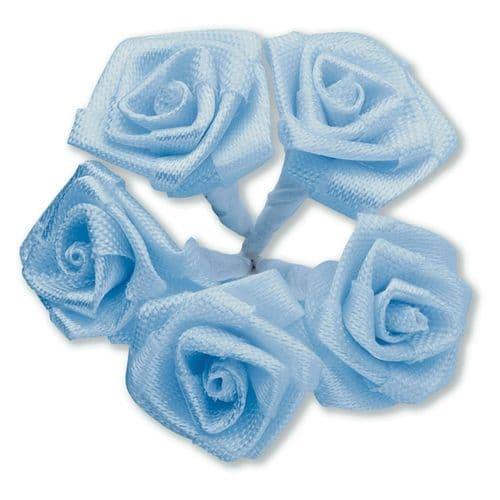 Blue Ribbon Roses / Medium - dia. 20mm - packed in 144's