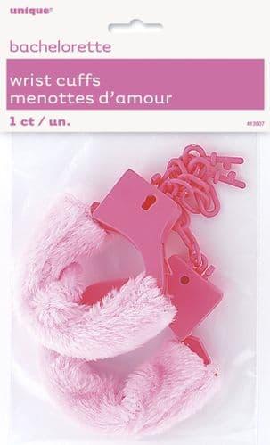 Bride To Be Wrist Cuffs Fur