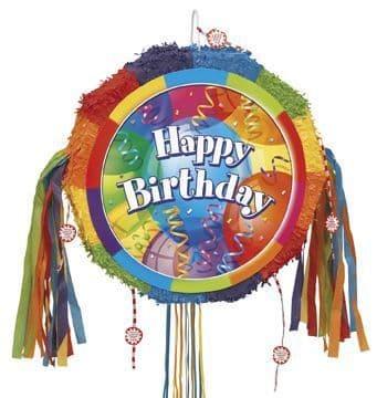 Brill Happy Birthday  Drum Popout Pinata