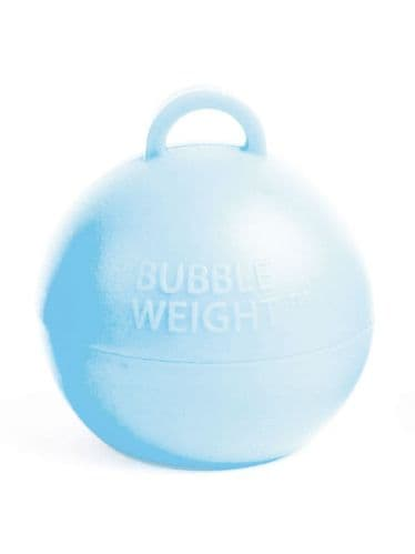 Bubble Balloon Weights Baby Blue