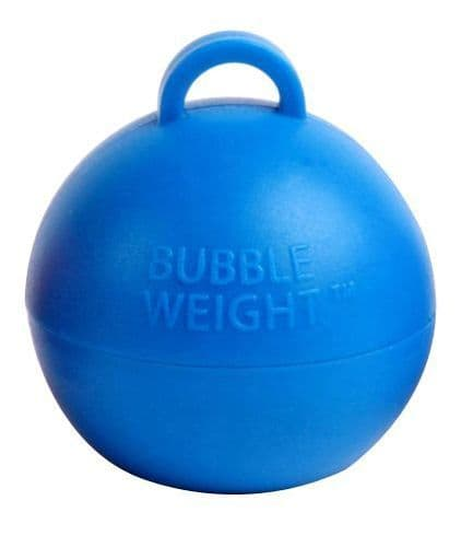 Bubble Balloon Weights Blue