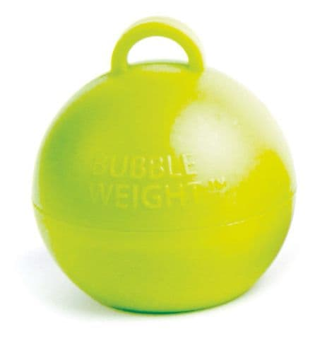 Bubble Balloon Weights Lime Green