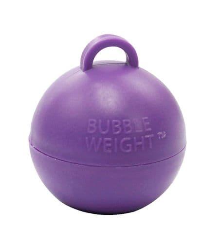 Bubble Balloon Weights Purple