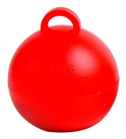 Bubble Balloon Weights Red